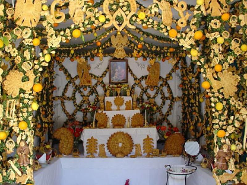Festa di San Giuseppe in provincia di Trapani