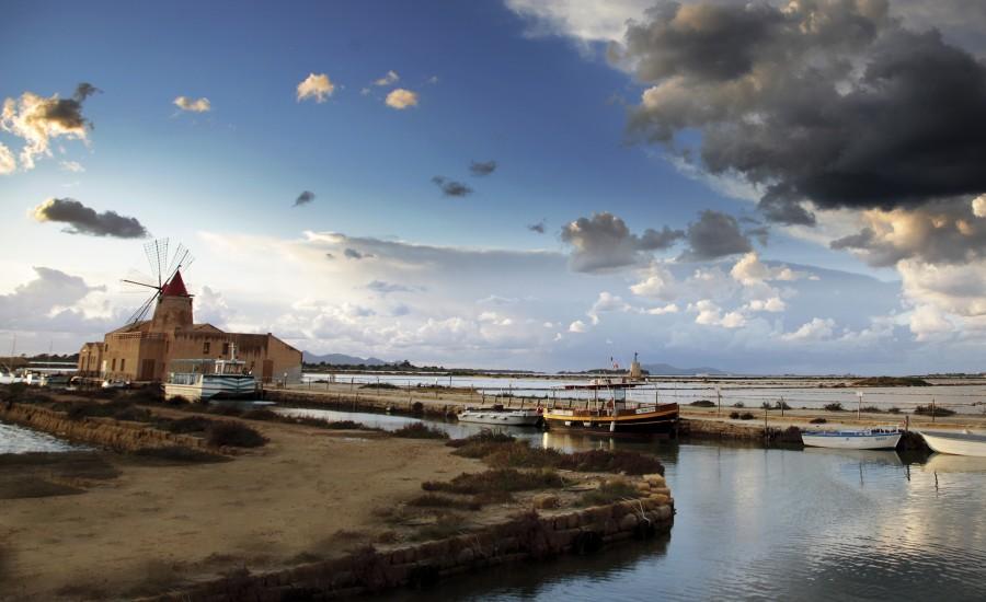 Itinerario naturalistico Saline Paceco-Nubia