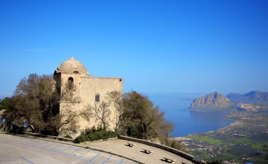 Itinerario panoramico Erice via Trapani